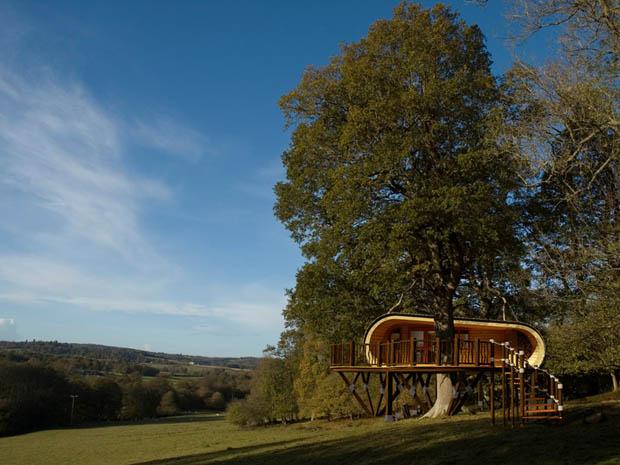 บ้านต้นไม้ กระท่อมไม้