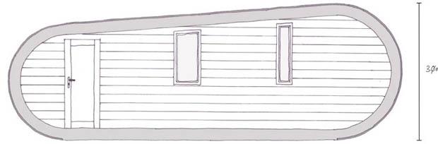 แบบแปลนบ้านไม้ ขนาดเล็ก