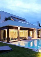 Modern home design plan
