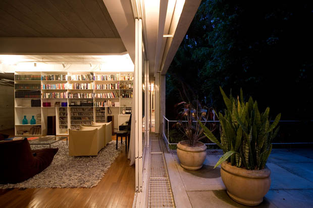 แบบห้องอ่านหนังสือ ห้องเก็บของสะสม