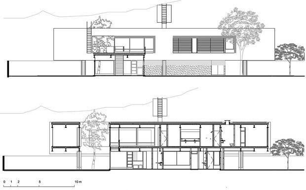 ออกแบบ เขียนแบบบ้าน สองชั้น