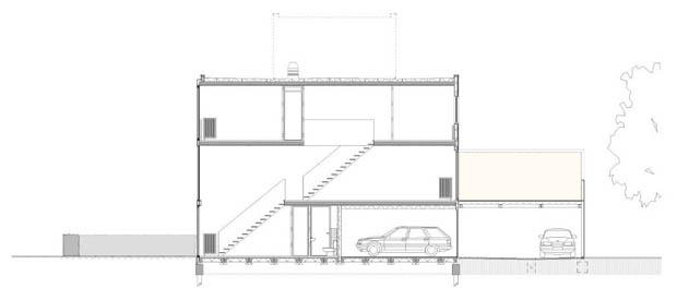 แปลนบ้านตึกแถว ห้องแถว อาคารพานิชย์