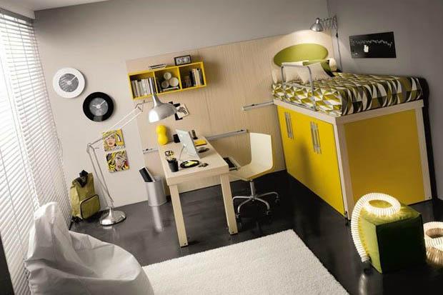 ห้องนอนสำหรับวัยรุ่น