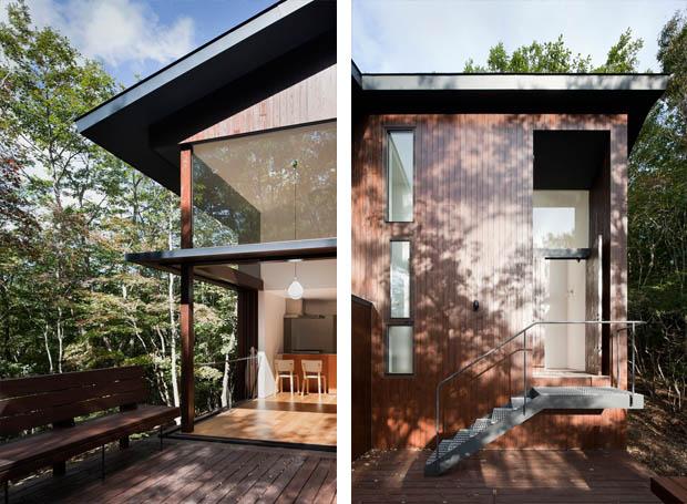 ออกแบบระเบียงไม้ หน้าบ้าน