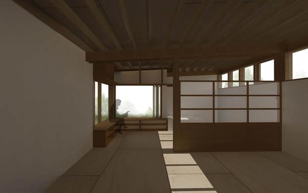 แบบบ้านไม้ขนาดเล็ก แปลนบ้านฟรี