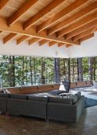 แบบเพดานไม้