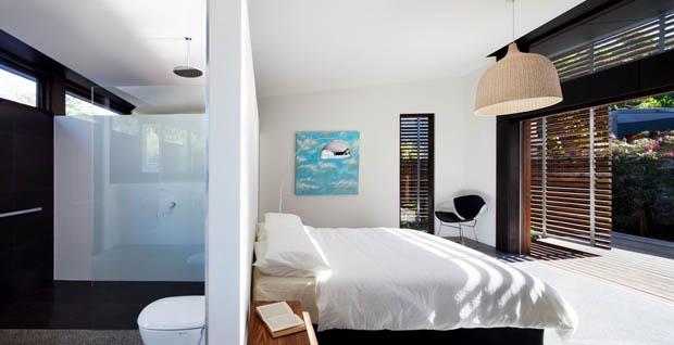 ออกแบบภายในห้องนอน มีห้องน้ำภายใน