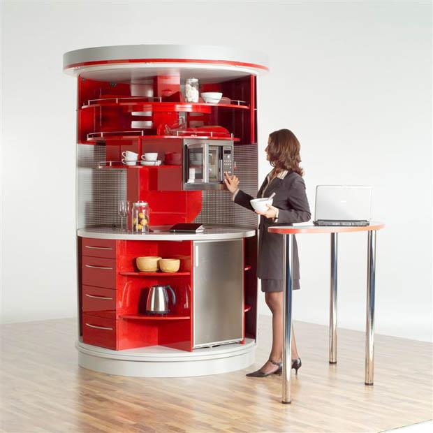 ครัวสำเร็จรูป ออกแบบห้องครัวขนาดเล็ก