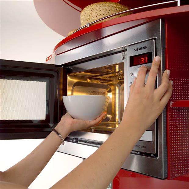 ช่องเก็บตู้ไมโครเวฟ