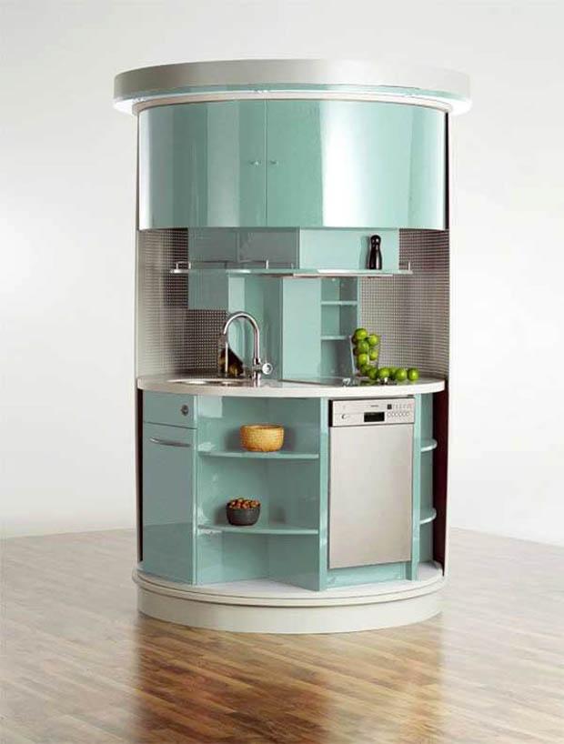 แบบห้องครัว ห้องเล็กๆ สำหรับพื้นที่แคบๆ
