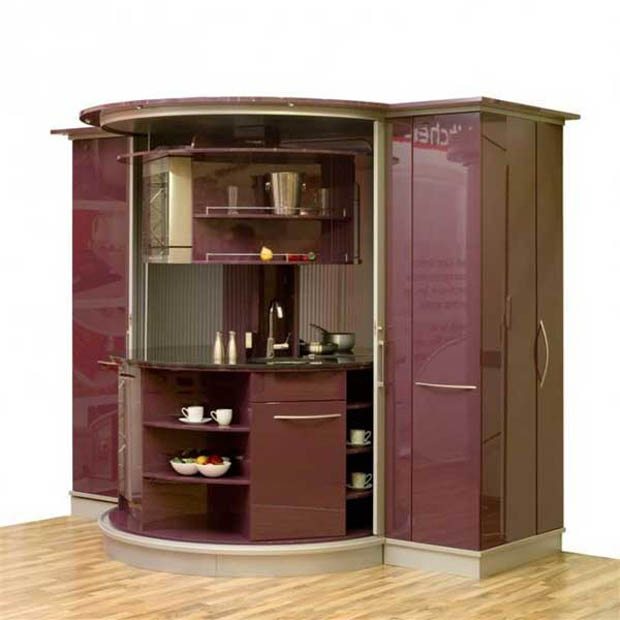 การจัดห้องครัวขนาดเล็ก พื้นที่น้อยๆ