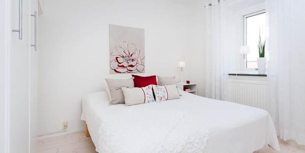 ภาพห้องนอนคอนโดสวยๆ ขนาดเล็ก