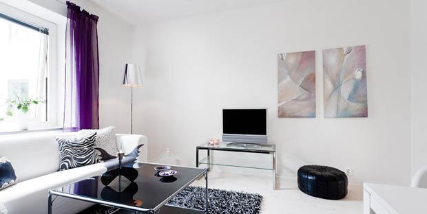แบบห้องดูทีวี ในคอนโดเล็กๆ