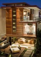 แบบบ้าน 3 ชั้น มีห้องโถงใต้ถุนบ้าน