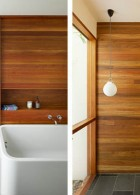 ห้องน้ำสวยๆ ชั้นล่างของบ้าน