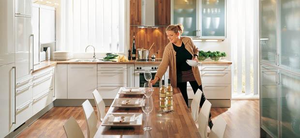 การจัดโต๊ะรับประทานอาหาร