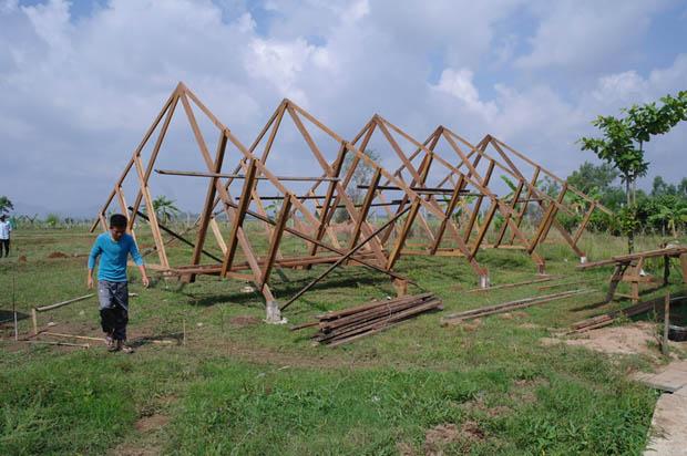 สร้างบ้านไม้ บ้านเรือนไทย