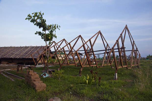 ขั้นตอนการสร้างบ้าน เรือนไทย ECO