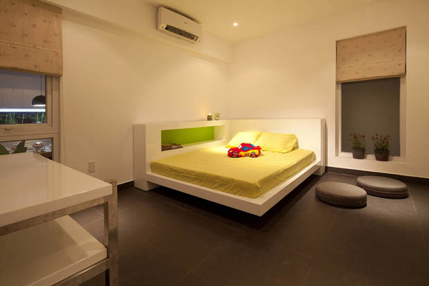 แบบห้องนอนสวยๆ เตียงนอนถาวร