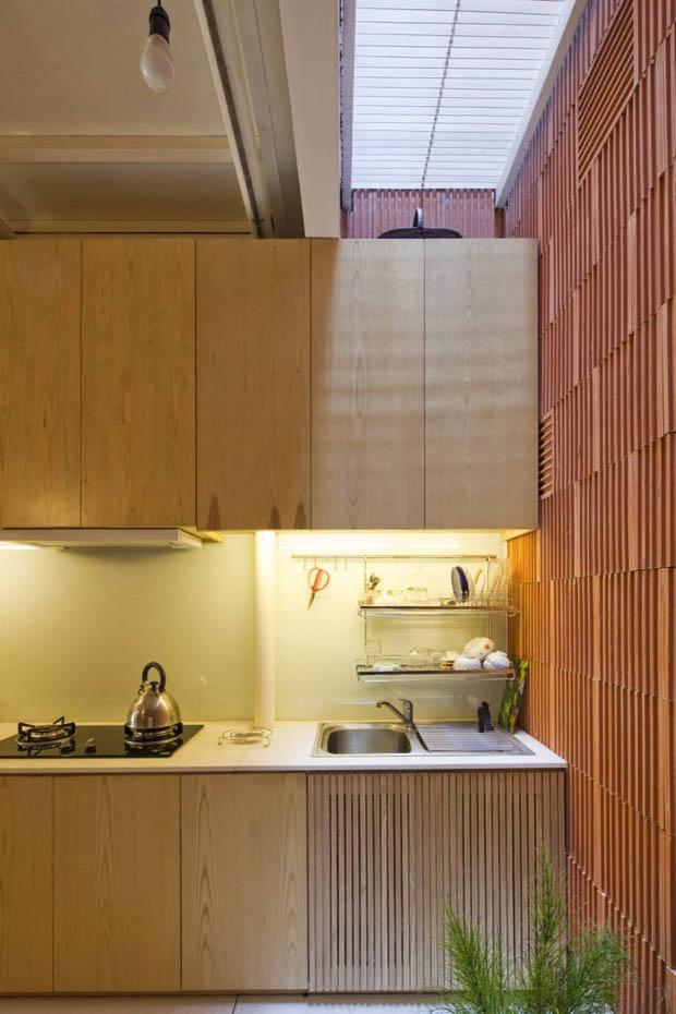 แบบห้องครัว ในบ้านตึกแถว ห้องแถว