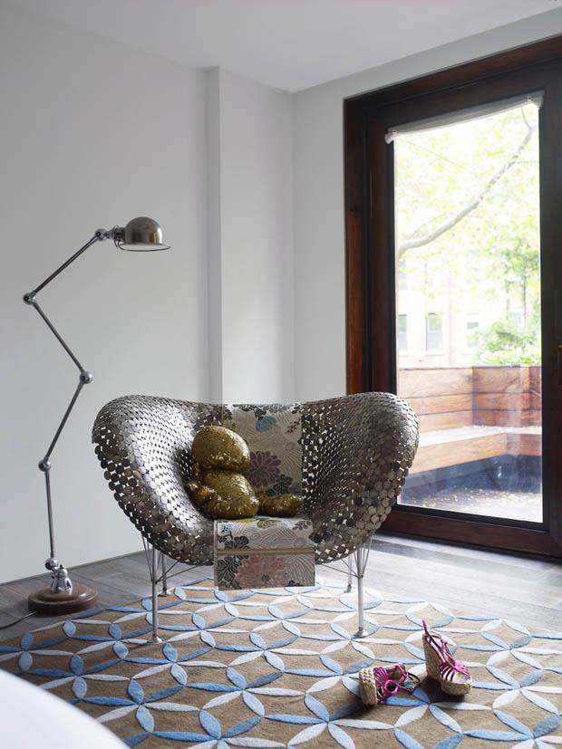 เก้าอี้สวยๆ ภายในห้องนอน