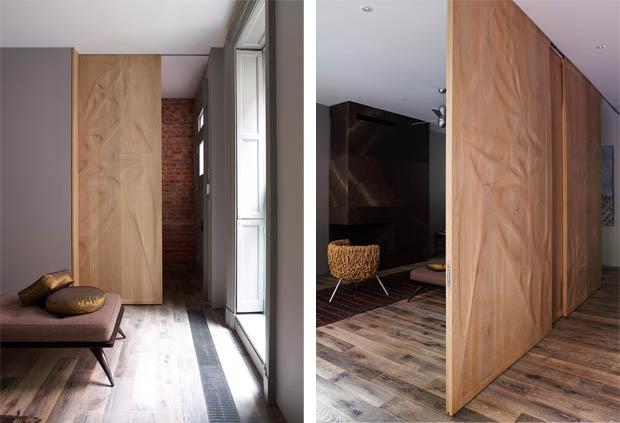 สร้างบ้านทาวน์โฮม ใช้พื้นไม้จริง