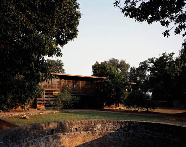 แบบบ้านสองชั้น บ้านในชนบท
