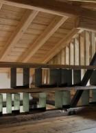 โครงสร้างหลังคาบ้าน หลังคาไม้โชว์ลาย