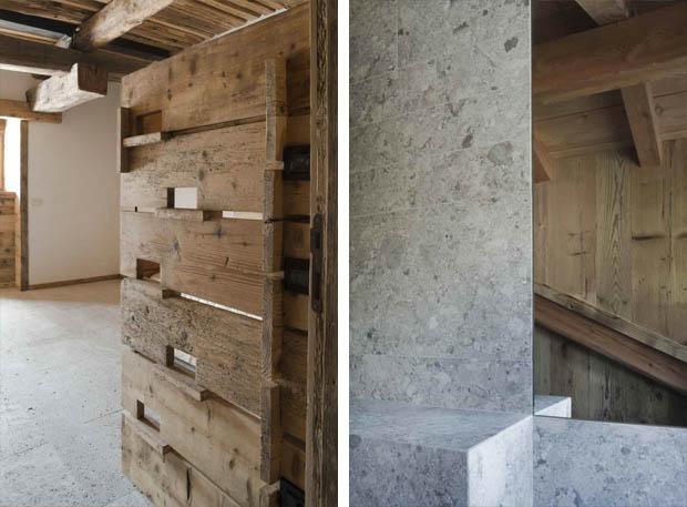 ผนังห้องน้ำ ห้องน้ำปูน ไม้