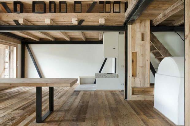 เพดานไม้ แบบเพดานบ้านไม้