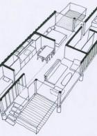แปลนบ้านภายใน บ้านคอนเทนเนอร์