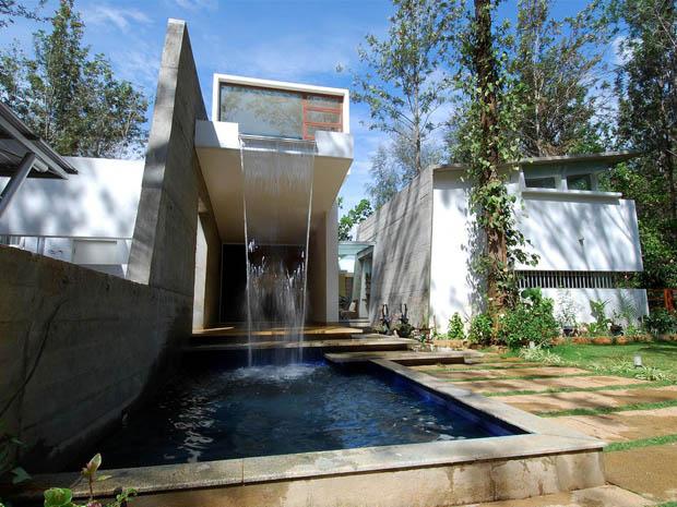 แบบน้ำตกหน้าบ้าน จัดสวนน้ำตก