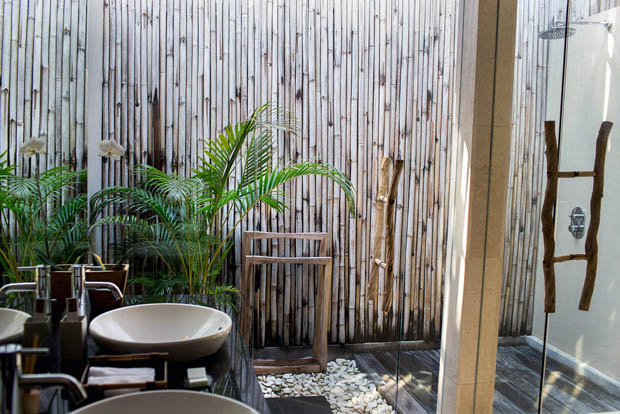 ห้องอาบน้ำ ห้องน้ำ แบบ Outdoor