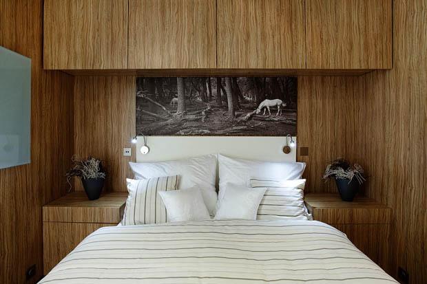 เตียงนอนในห้องรับแขก