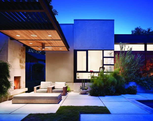 แบบบ้านและสวนสวยๆ จัดสวนข้างบ้าน
