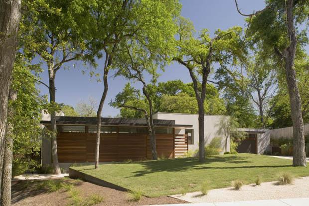 บ้านและสวน บ้านชั้นเดียว
