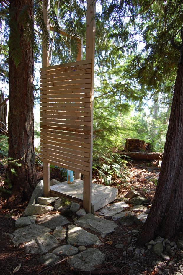 ห้องอาบน้ำ นอกบ้าน แบบ Open Air