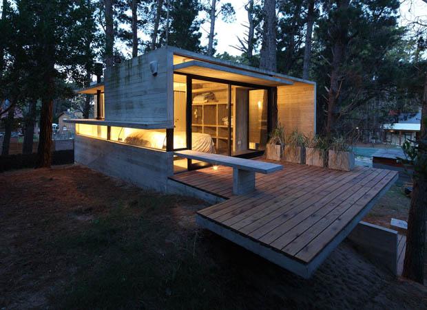 แบบบ้านปูนดิบ Loft Modern Home