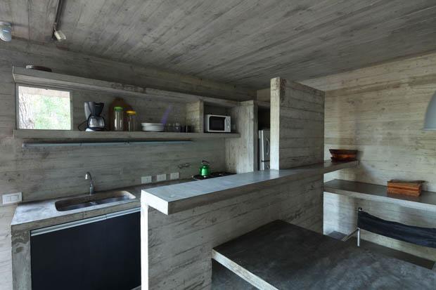 ห้องครัวปูน แบบห้องครัวปูนทั้งห้อง