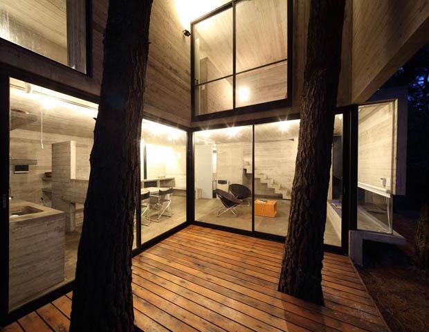 แบบชานนอกบ้าน พื้นไม้