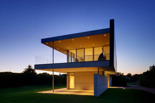 แบบบ้านสองชั้น งดงามสไตล์โมเดิร์น