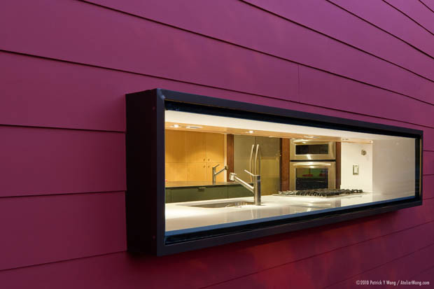 ช่องหน้าต่าง ห้องครัว