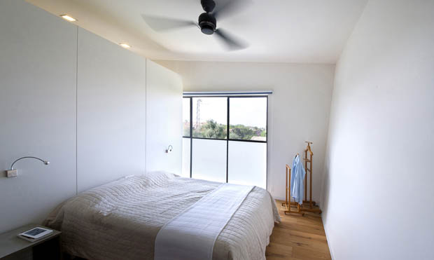 ตกแต่งห้องนอน พัดลมติดเพดาน