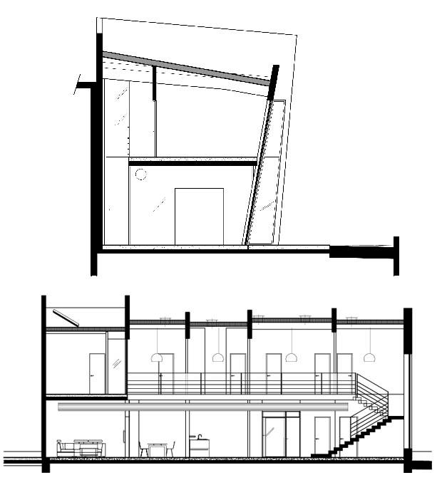 แปลนโครงสร้างบ้าน โมเดิร์น