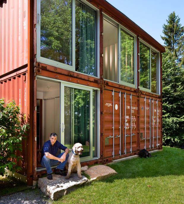ภาพบ้าน สร้างจาก ตู้ Container