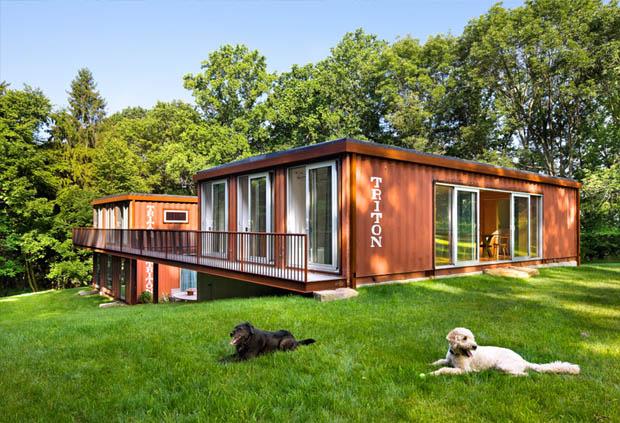 ออกแบบบ้าน Container สำหรับอยู่อาศัย