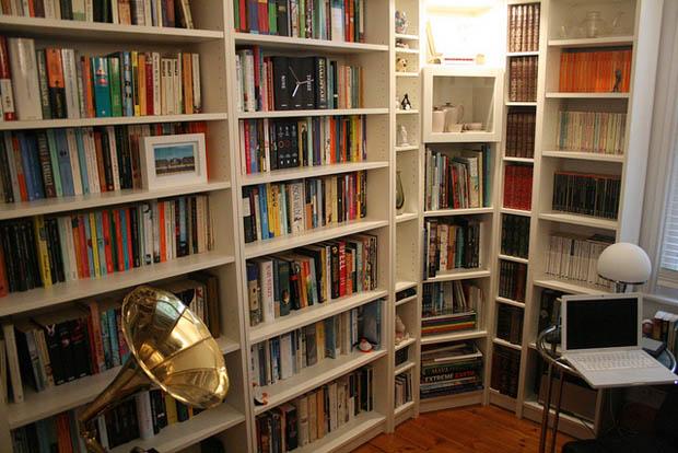 จัดห้องหนังสือ