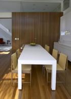 โต๊ะไม้สีขาว โต๊ะกินข้าวสวยๆ