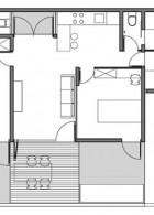 แปลนบ้านชั้นเดียว จัดสรรพื้นที่อย่างประหยัด