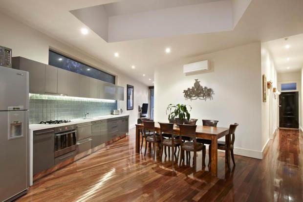 ออกแบบห้องโถงภายในบ้าน